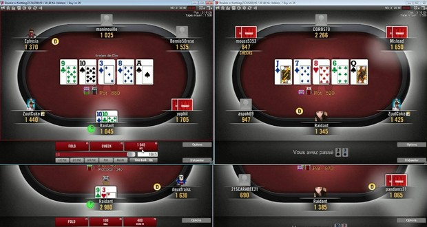 Quitte ou double poker